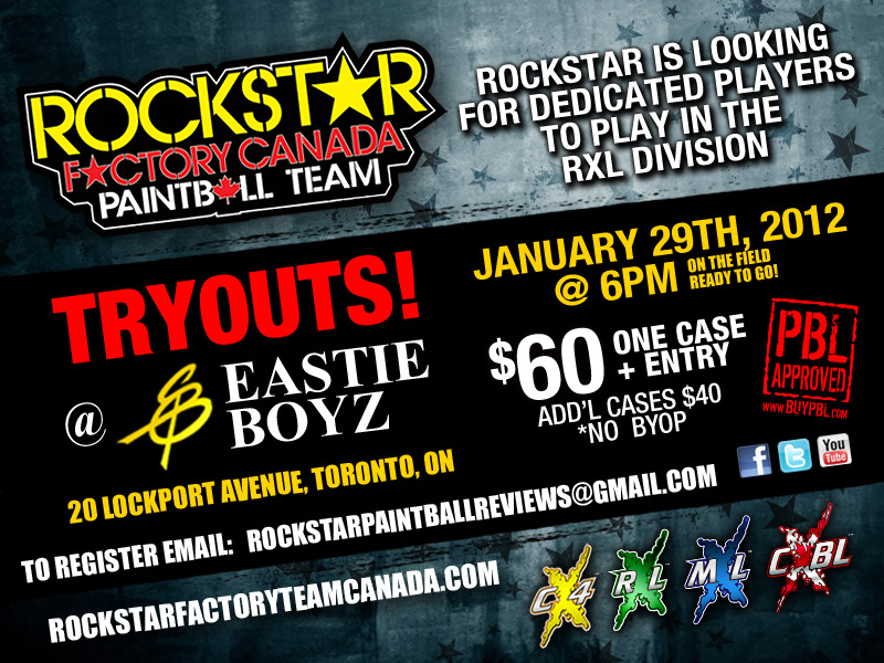Rockstar Factory Canada Tryouts