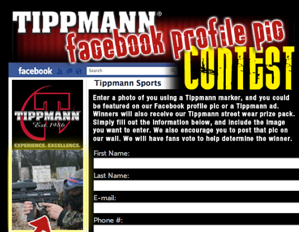 Tippmann Facebook Contest