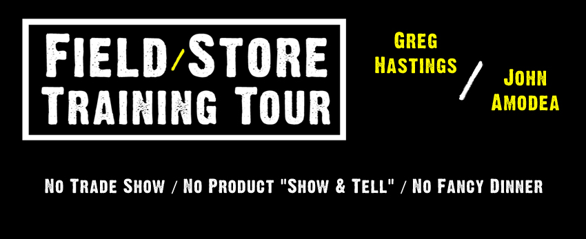 Greg Hastings/John Amodea Field/Store Hardcore Training Tour Dates & Locations Set
