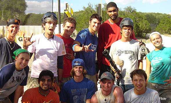 tim duncan paintball