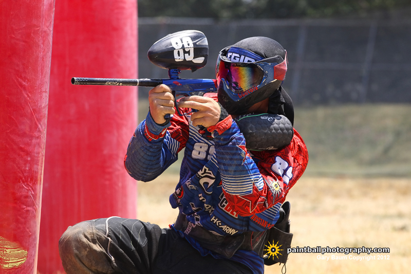 Photo by Gary Baum of paintballphotography.com