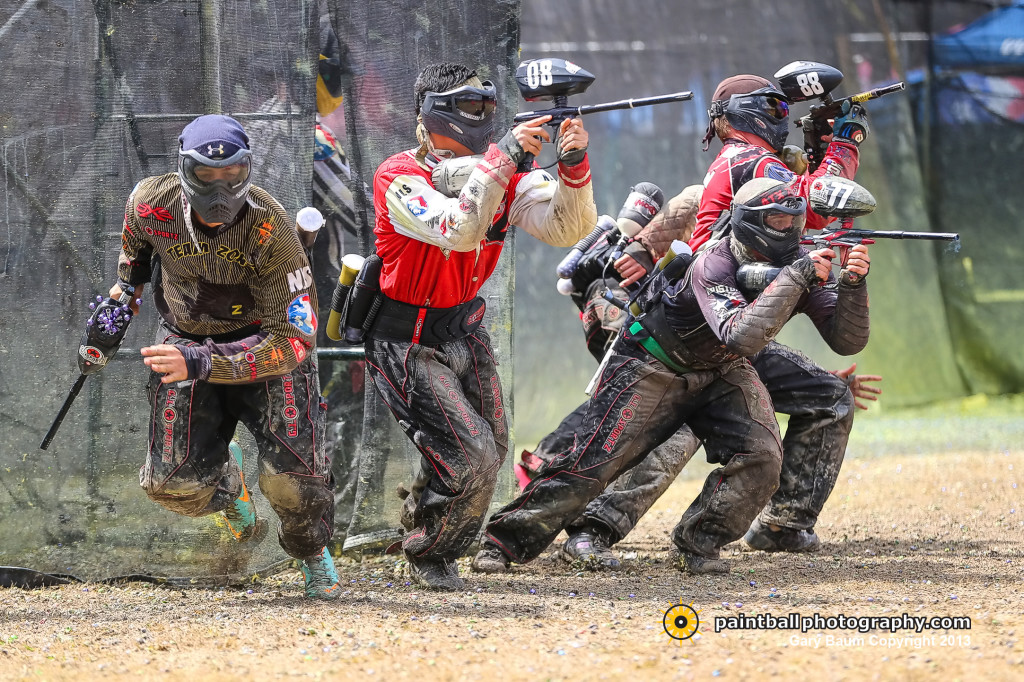 Divisional Paintball Team