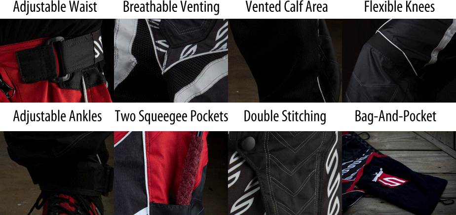 Grit Paintball Pants Features