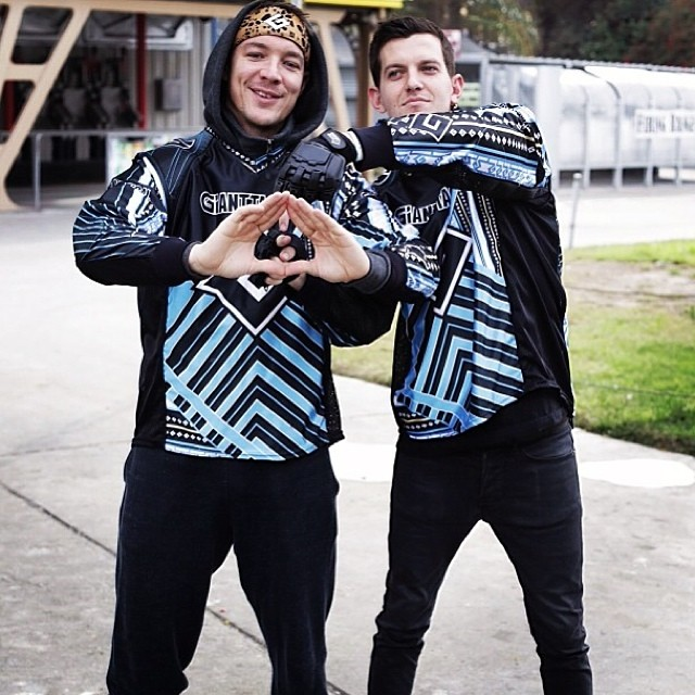 dillon francis diplo paintball