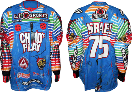 childs play custom paintball jersey gallery