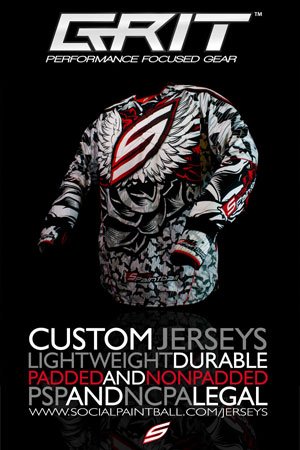 Social Paintball Grit Custom Paintball Jerseys