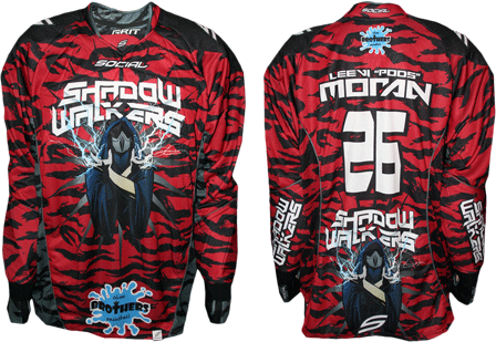 shadow walkers custom paintball jersey gallery