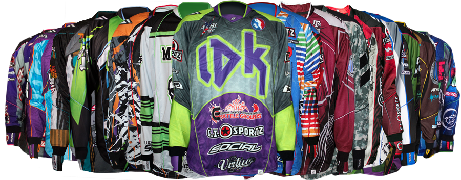 Grit Custom Paintball Jerseys