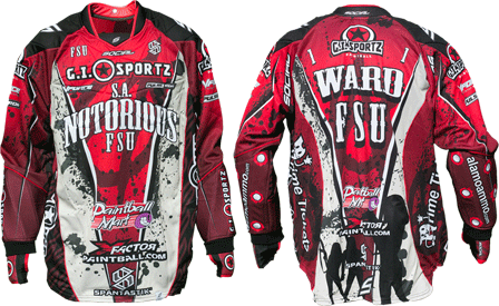 notorious custom paintball jersey gallery